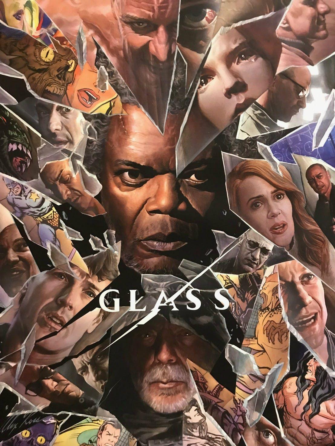 Poster Glass continuación El Protegido