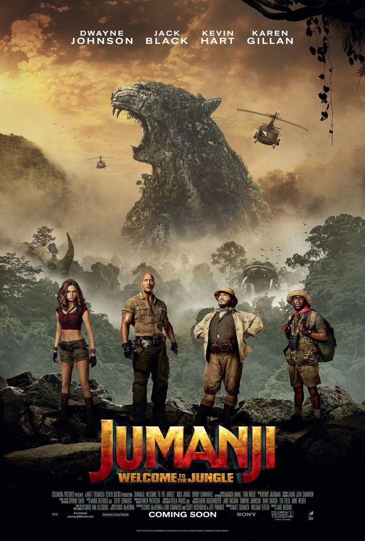 Jumanji 2 Bienvenidos A La Jungla 2017 Película Aullidoscom