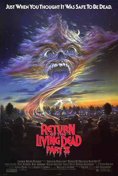 El regreso de los muertos vivientes 2 - 1988 [720p] [Latino]