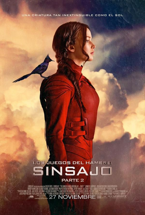 Sinsajo Poster