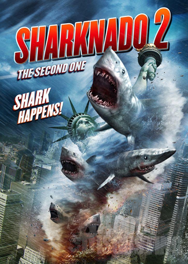 Póster Sharknado 2