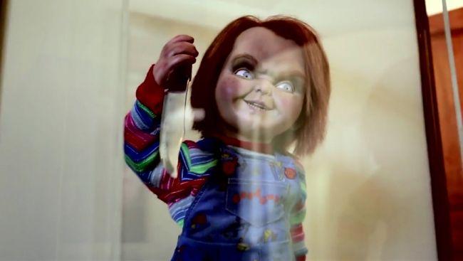 Curse Of Chucky New Look Chucky's ne...