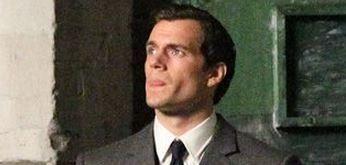 """Primera imagen de Henry Cavill en """"El Agente de CIPOL"""""""