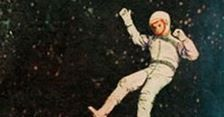 """Brillante Retro-P�ster de """"Gravity"""""""