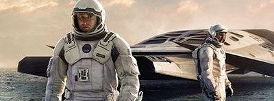 "Marchando un p�ster IMAX de ""Interstellar"""