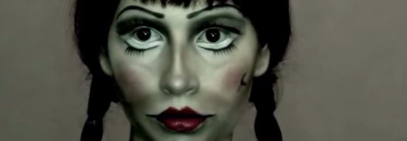 Video-Tutorial: �C�mo maquillarte como la mu�eca Annabelle?