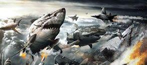 "Galer�a de posters de ""Sky Sharks"" (es decir, tiburones nazis zombis voladores)"