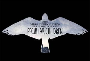 "Primer p�ster de ""Miss Peregrine�s Home for Peculiar Children"""