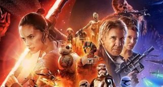 """Star Wars: El Despertar de la Fuerza"": Tres geniales retro-posters de la pel�cula"