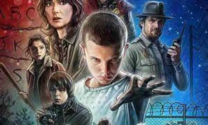 "Nuevo tr�iler y p�ster final de ""Stranger Things"", la ochentera serie scifi de Netflix"
