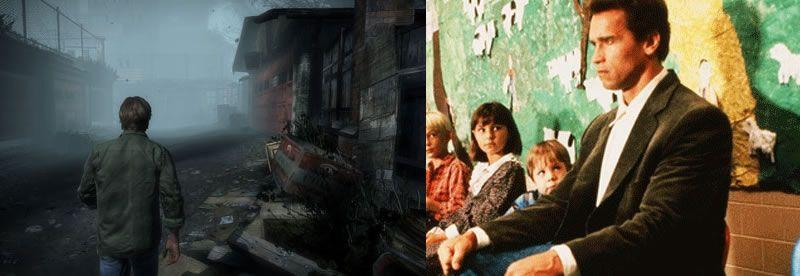 """Las inquietantes similitudes entre """"Silent Hill"""" y """"Poli de Guardería"""""""