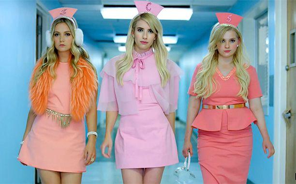 """""""Scream Queens"""": Las Chanels están de vuelta en el nuevo teaser tráiler"""