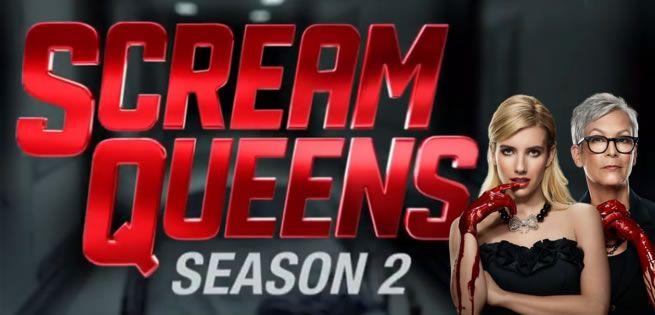 """""""Scream Queens"""": Tráiler oficial de la 2ª Temporada de la serie"""