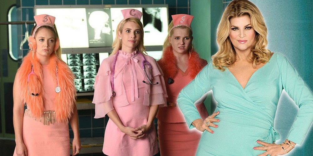 """Scream Queens"": Kirstie Alley se incorpora a la 2ªT (y confirmado su argumento)"