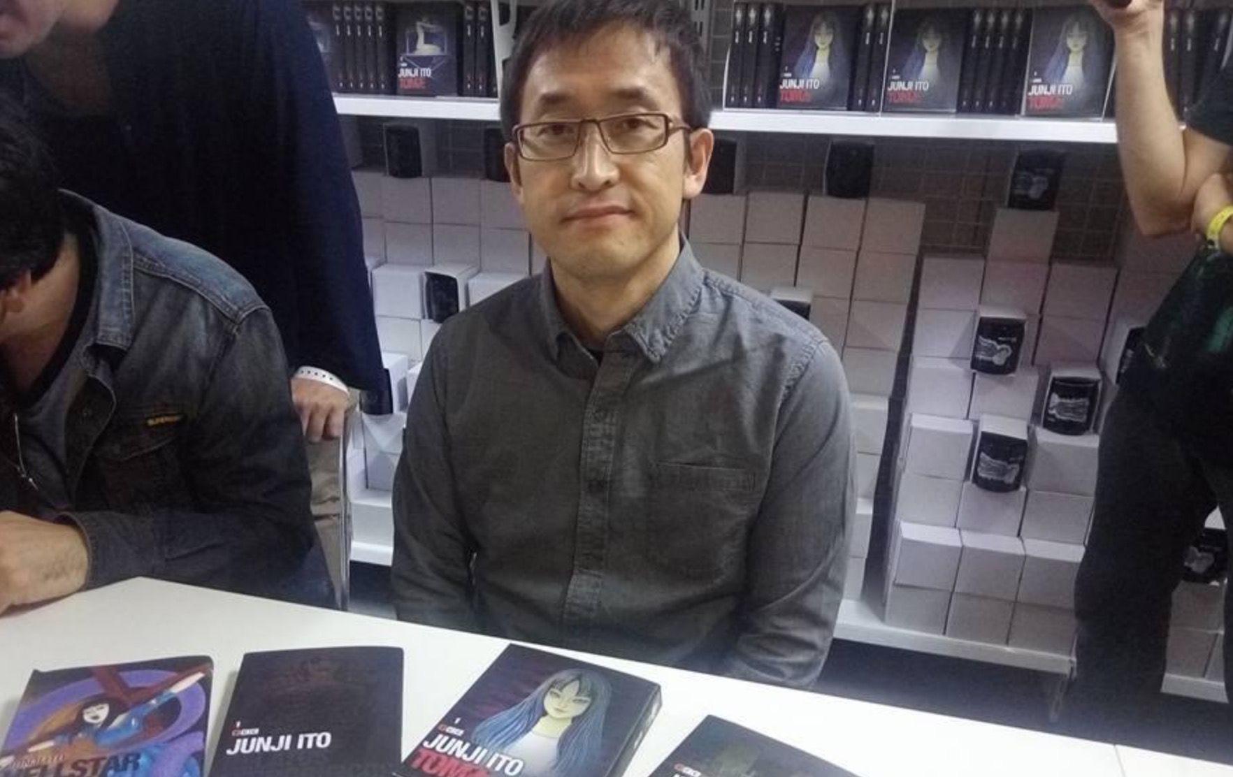 Hemos entrevistado a Junji Ito en el Salón de Manga de Barcelona