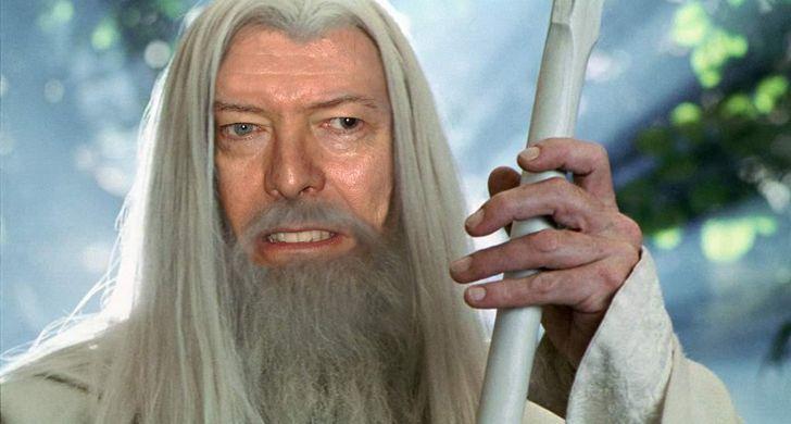 """David Bowie pudo haber sido Gandalf en """"El Señor de los Anillos"""""""