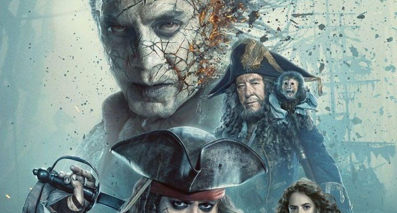 """Piratas del Caribe 5"""": Nuevo pster y triler subtitulado con un joven ... Javier Bardem"""