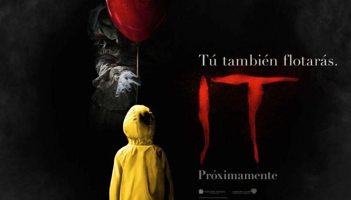 """""""IT"""": Tráiler Oficial de la adaptación de la novela de Stephen King"""