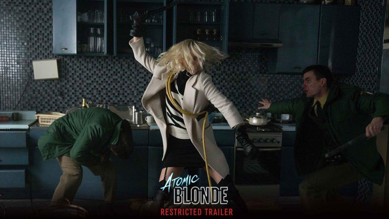 """""""Atómica"""": Póster español y fecha de estreno del título con Charlize Theron"""