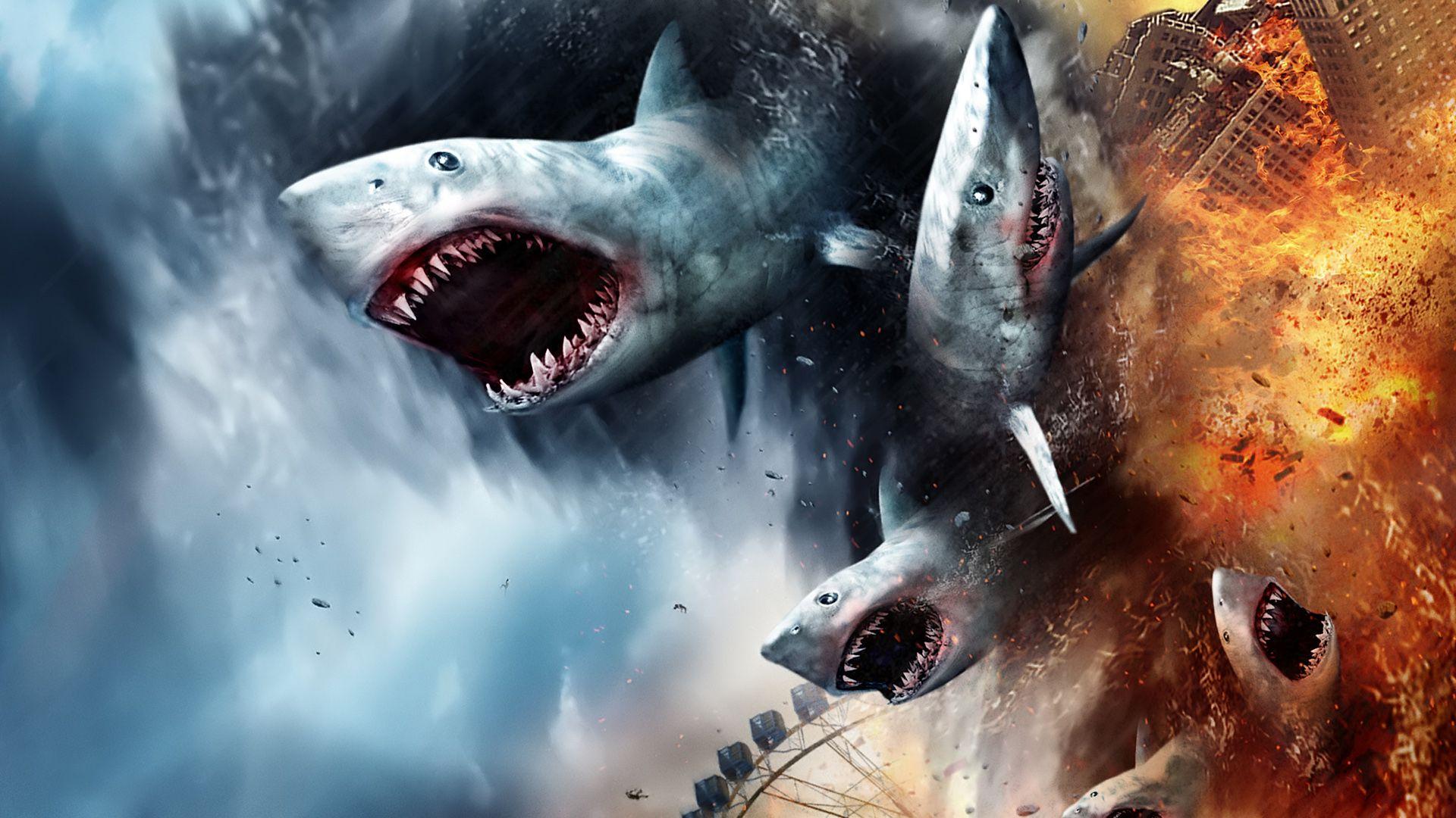 """""""Sharknado 5... Earth 0"""" ya tiene fecha de estreno en Estados Unidos"""