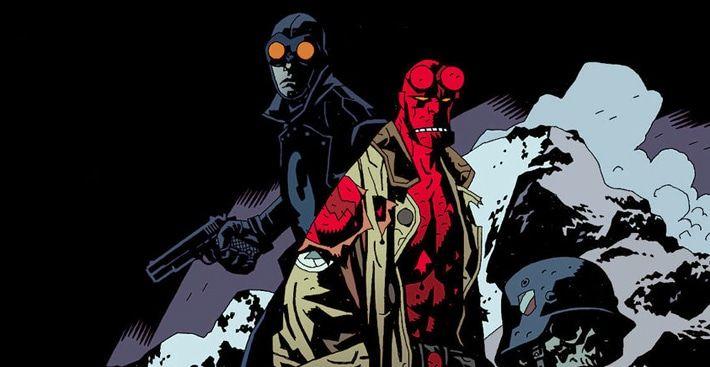 """""""Hellboy"""": Póster de ventas del reboot visto en el Festival de Cannes"""