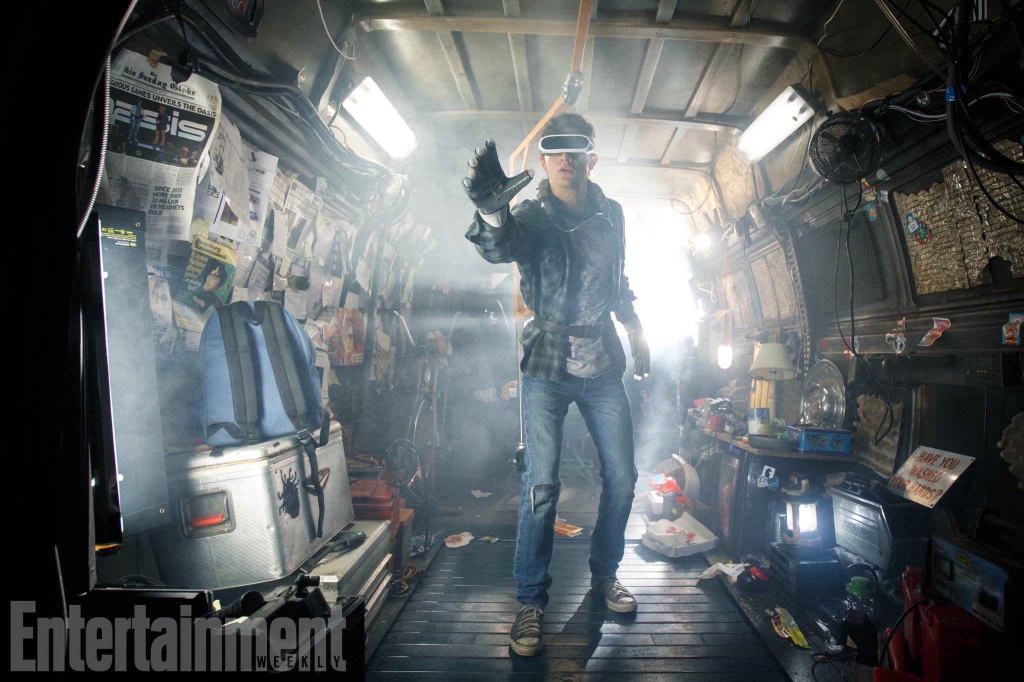 """""""Ready Player One"""": Primera imagen de la película de Steven Spielberg"""