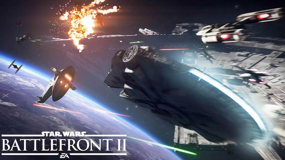 """""""Star Wars: Battlefront II"""": Tráiler del Modo Asalto de Cazas Estelares"""