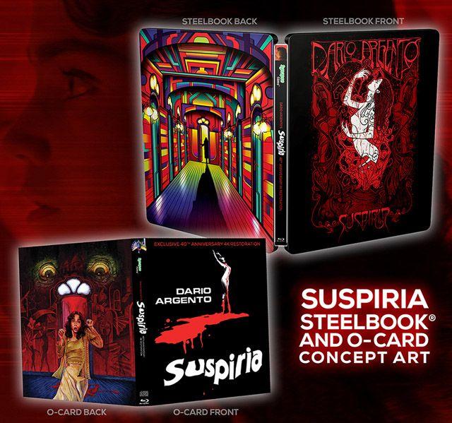 """""""Suspiria"""": Ya puedes reservar la edición limitada en 4K del título de Argento"""