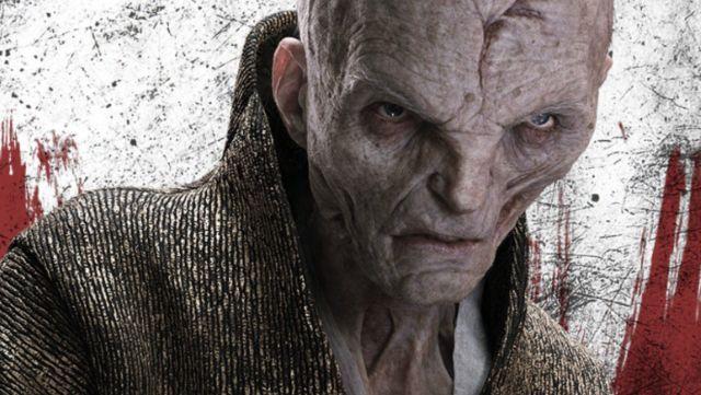 """""""Star Wars: Los Últimos Jedi"""": Un nuevo vistazo al Líder Supremo Snoke"""