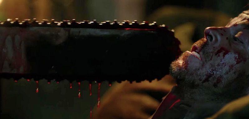 """""""Leatherface"""": Póster final de la película que veremos en Sitges"""