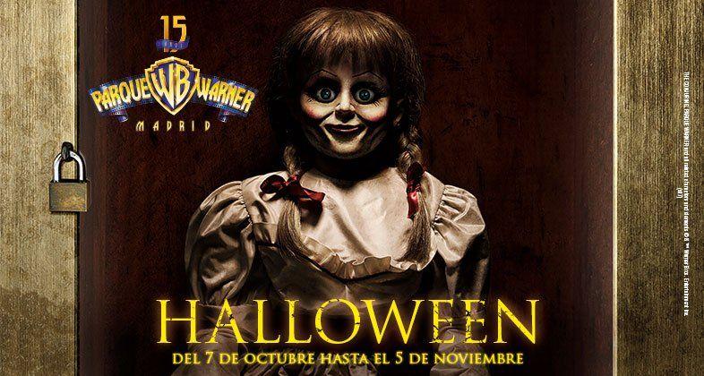 Annabelle, Freddy Krueger y Jason Voorhees visitarán el Parque Warner en octubre