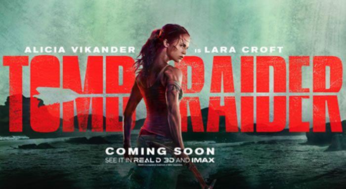 """""""Tomb Raider"""": Primer póster y avance del tráiler que veremos mañana"""