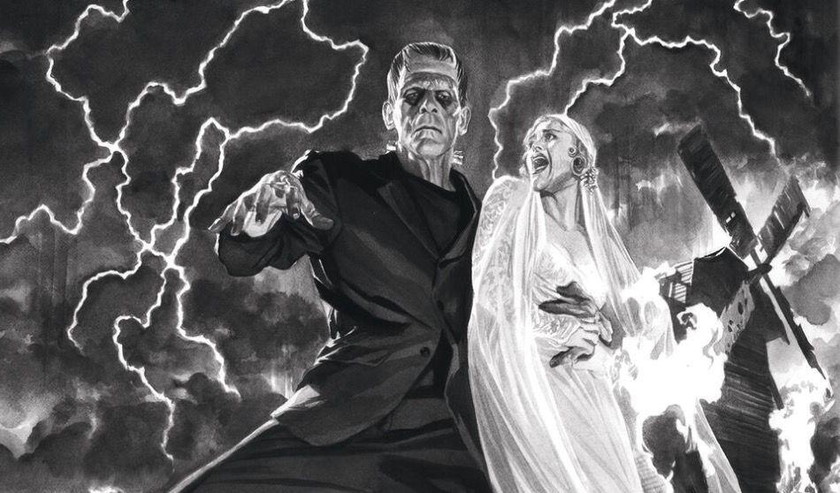 Los Monstruos de la Universal regresan en Steelbooks ilustrados por Alex Ross
