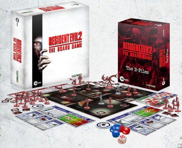 """""""Resident Evil 2"""": El juego de mesa consigue financiarse en menos de 24 horas"""