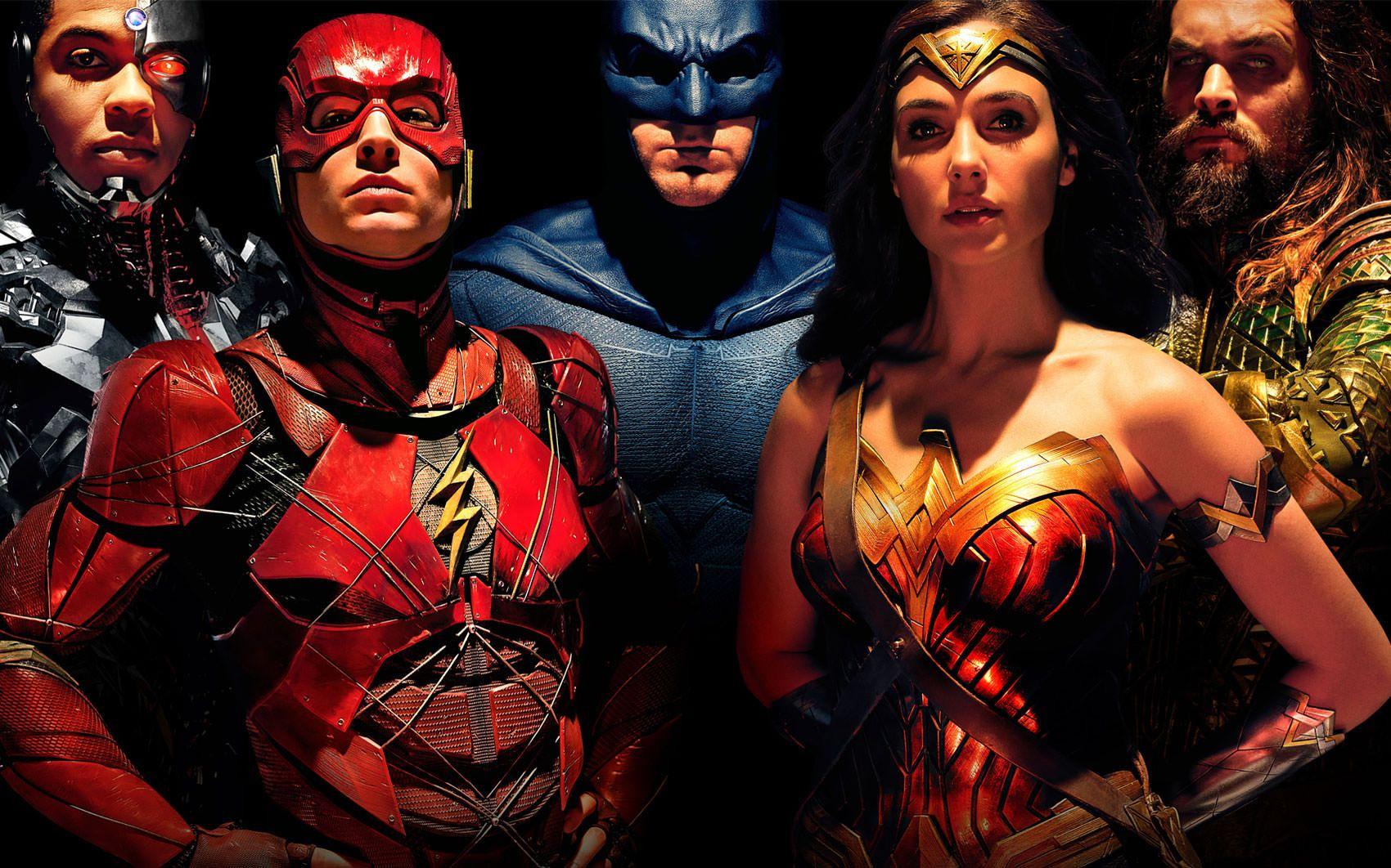 """""""La Liga de la Justicia"""": Cinco póster de personajes (y el domingo nuevo tráiler)"""