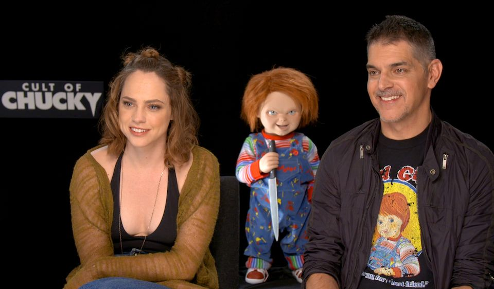 """Cult of Chucky"": Entrevistamos a su director Don Mancini y a Fiona Dourif"
