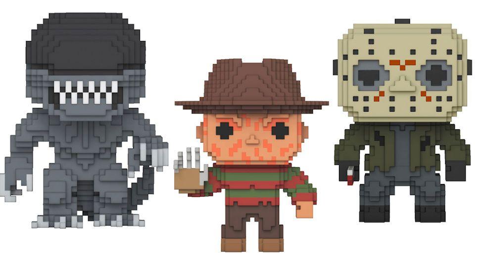Funko Pop! lanza una línea basada en iconos del terror en versión 8-Bits