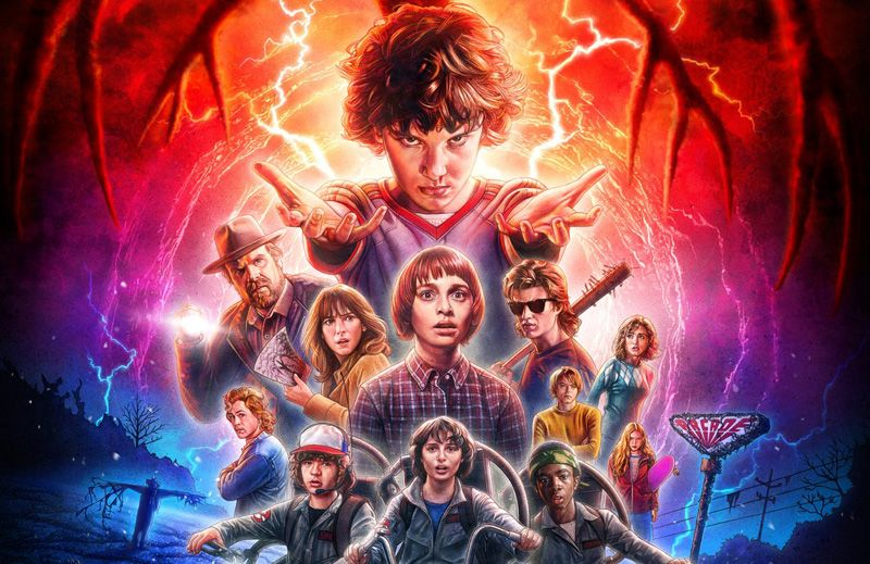 """Stranger Things"": Póster final de la 2ª Temporada de la serie"