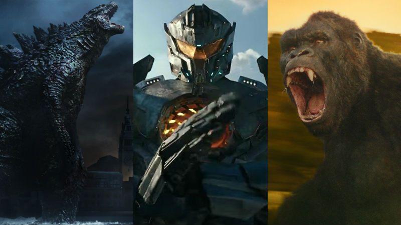 """""""Godzilla vs Kong vs Pacific Rim"""" es el futuro lógico de las franquicias"""