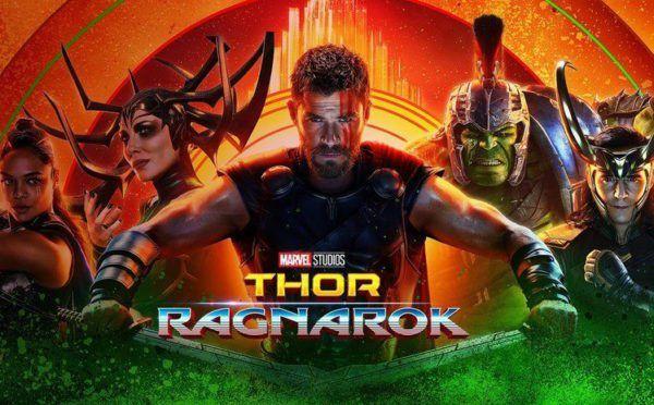 """""""Thor Ragnarok"""" repite en el primer puesto de la taquilla americana"""