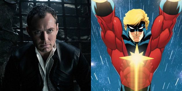 """Captain Marvel"": Jude Law será Walter Lawson (Mar-Vell) en la película"