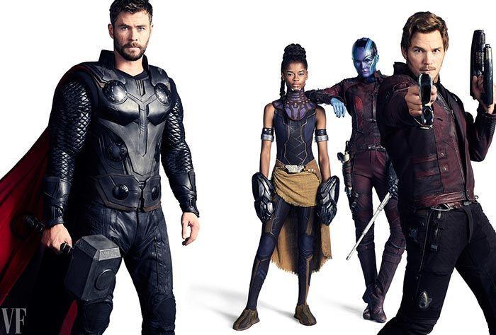 """""""Vengadores: Infinity War"""": Póster, imágenes y mañana tráiler"""