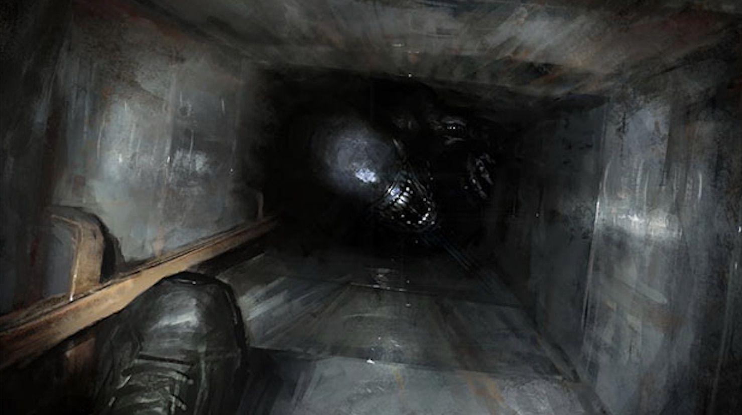 """""""Alien 5"""": Un par de nuevas imágenes conceptuales del proyecto cancelado"""
