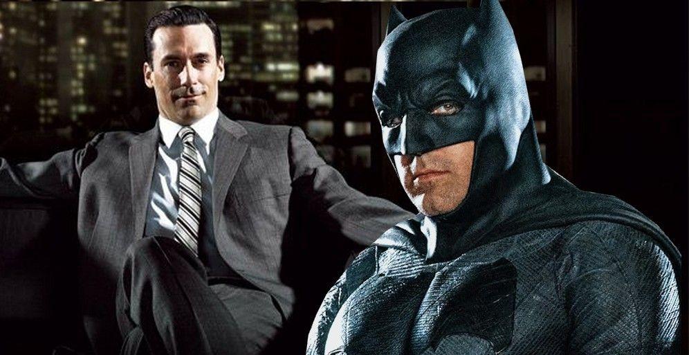 """""""The Batman"""": Un artista recrea a Jon Hamm como El Hombre Murciélago"""