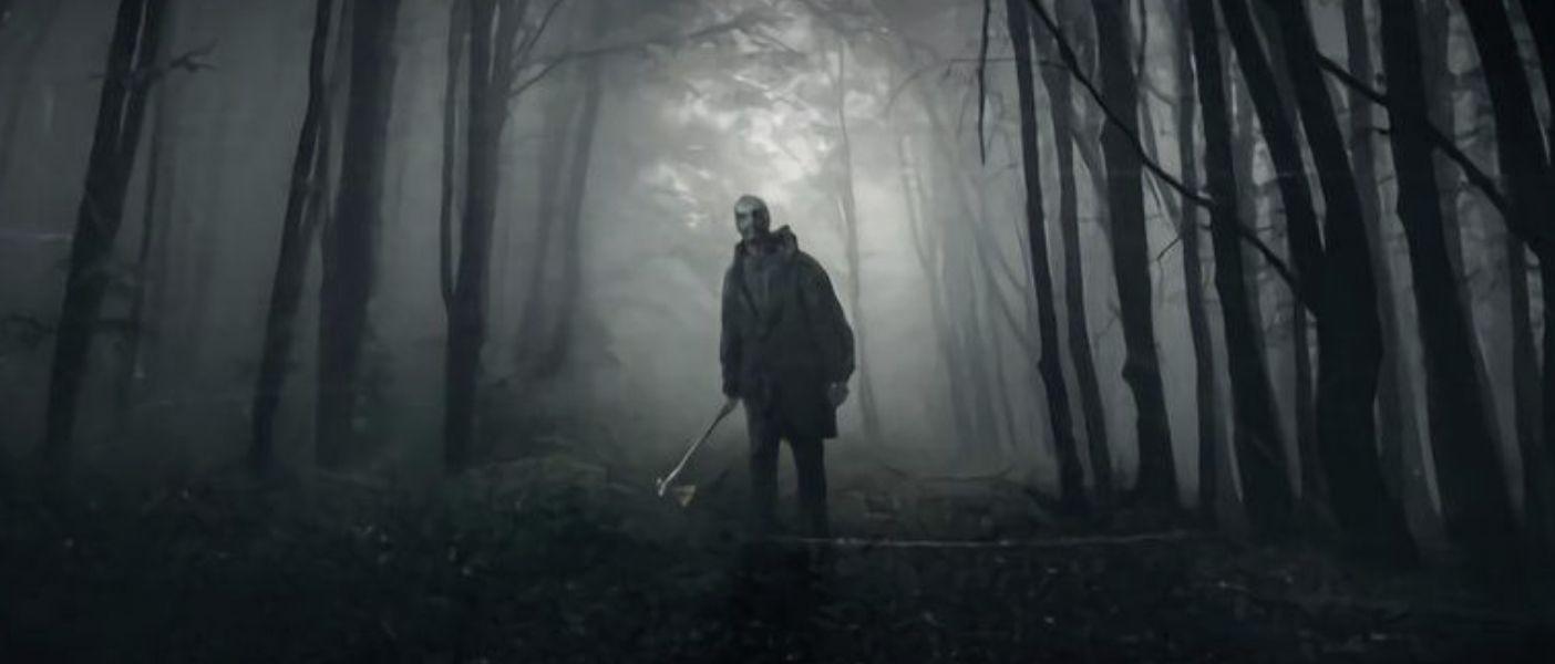 "Póster de ""He´s Out There"", el slasher dirigido por Dennis Iliadis"