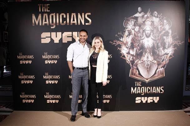 """""""The Magicians"""": Entrevistamos a Olivia Taylor Dudley y Arjun Gupta"""