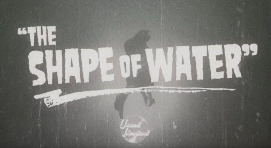 """""""La Forma del Agua"""" y su genial retro-trailer a lo años cincuenta"""