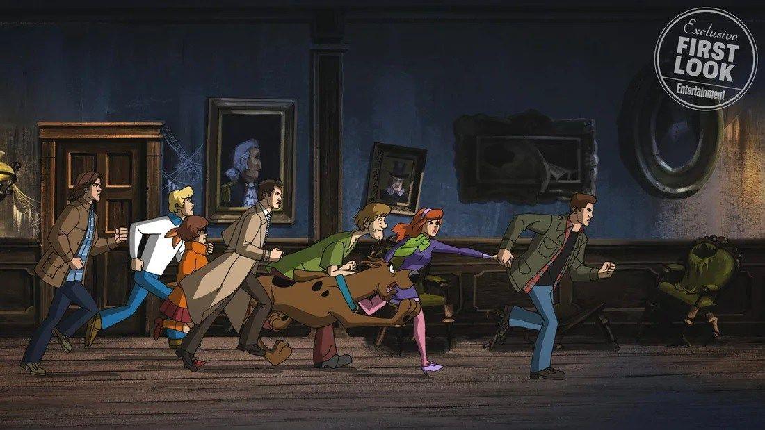 """Primeras imágenes del spin-off entre """"Supernatural"""" y """"Scooby Doo"""""""