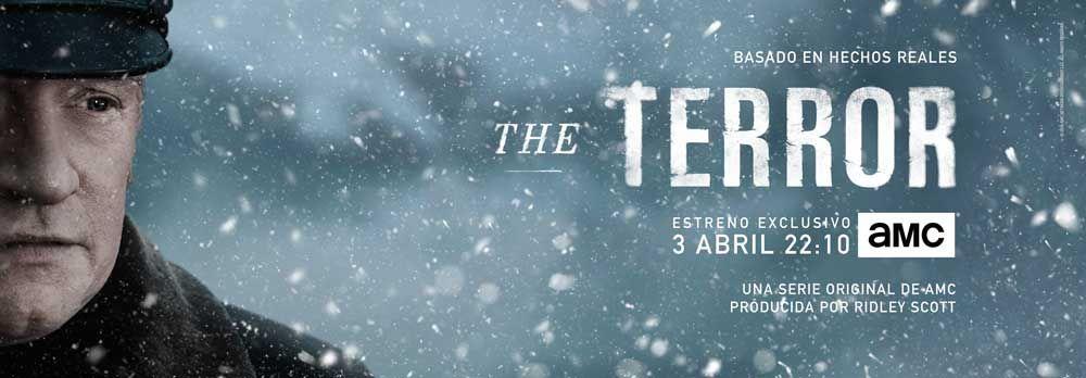 """""""THE TERROR"""": Te invitamos a la premiere en Madrid el próximo 20 de marzo"""