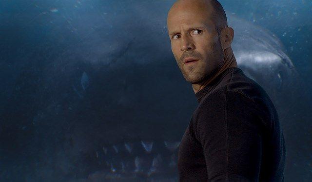 """""""Megalodón"""": Un nuevo banner promocional de la película con Jason Statham"""